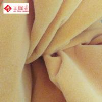 Wholesale Decorative Flocked Velvet Arts And Crafts Style Fabric With Paper Backing from china suppliers