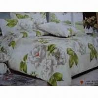 Wholesale Bedding Set, Various Colors and Sizes are Available, Made of 90gsm Microfiber from china suppliers