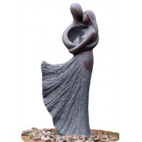 Wholesale Lover Sculpture Water Fountains , Copper Outdoor Water Fountains For Backyard from china suppliers