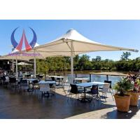 Wholesale Firm Fixed Center Supported Umbrella Shade Structures Fabric Canvas Shade Covers from china suppliers