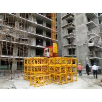 Wholesale Mast Section and Tie 2 Ton Building Site Hoist, Goods Elevator With Computer Aided SC200 from china suppliers