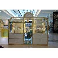 Wholesale Shopping Mall / Store Makeup Display Stands Large Cosmetic Display Shelving Unit from china suppliers