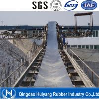Wholesale Steel Cord Impact Conveyor Belt for Large Goods Transportaion black color DIN standard from china suppliers