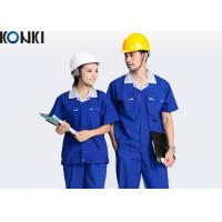 Buy cheap Blue Wear Work Trousers Custom Comfortable Work Uniform For Electrician / Worker from wholesalers
