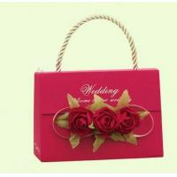 Wholesale paper candy bag with flowers decoration from china suppliers