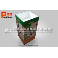 Quality OEM Supermarket Promotion One Tray Dump Bin Display For Nuts Snack for sale