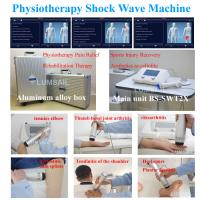 Buy cheap BS-SWT2X physiotherapy shockwave ESWT pain relief shock wave machine therapy soft tissue scar from wholesalers
