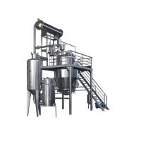Wholesale Organic Solvent Herb Extraction Equipment Concentration Machine 500L from china suppliers