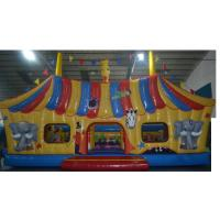 Buy cheap Large Kids Inflatable Combo , Funny House Bouncy Jumping Castles from wholesalers