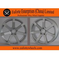 Wholesale 18inch Silver Tuning Lightweight Car Wheels / Custom Wheel Rims from china suppliers