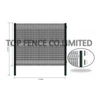 Wholesale Anti Resistant Clear Vu Fence Panels / Clearvu Fencing Highly Attractive from china suppliers