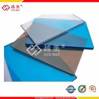 China 2mm 6mm 8mm 10mm Clear Lexan Polycarbonate solid sheet conatruction materials on sale