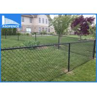 Wholesale 10m Per Roll Chain Link Mesh Fence Weave 2m , Green Chain Wire Fencing from china suppliers