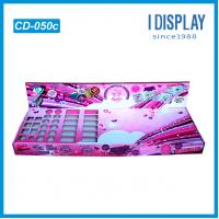 Wholesale Full Printing Creative Colour Cosmetic cardboard display shelves For Nail Polish from china suppliers