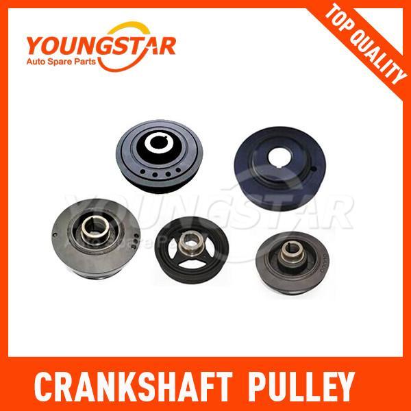 Crankshaft Pulley MITSUBISHI 4D56 MD110165 Of Item 102960420