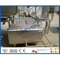 Wholesale SUS304  SUS316L Stainless Milk Tank , Customized Milk Pasteurization Machine Tank from china suppliers