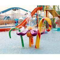 Wholesale Different Style Spray Park Equipment , Fiberglass Splash Park Equipment from china suppliers