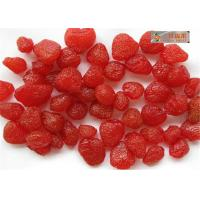 Wholesale Sweet Nuts dry Strawberry , Healthy freeze dired strawberry without additives from china suppliers