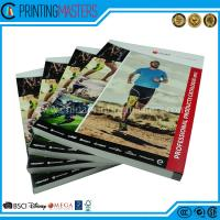 China Custom Design Soft Cover Catalogue Printing China CMYK Perfect Bound Book on sale