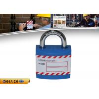 Wholesale ZC-J01 Safety Lockout Padlocks Durable Non - Conductive Xenoy Lock Body from china suppliers