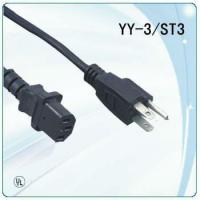 Wholesale CSA approved 125V 2 prong NEMA plug power cable black from china suppliers