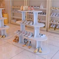 Wholesale Hot Sale Shoes Store Metal Or Wood Standing Display Stand For Shoes from china suppliers