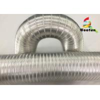 Wholesale Heat Resistant Flexible Air Aluminum Air Duct Semi Rigid Fire Retardent from china suppliers