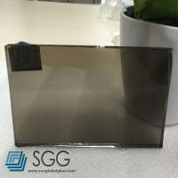 Wholesale 6mm Euro Bronze tinted float glass from china suppliers