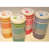 Wholesale Custom Printed Washi Masking Tape With Cute Patterns And Designs from china suppliers