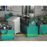 Wholesale Channel Stud And Track Roll Forming Machine for Overhead Rail / Hanger Runner from china suppliers