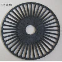 Wholesale 2548096 P1001 Drive Wheel Tooth 4.2mm Z=136 Tooth from china suppliers