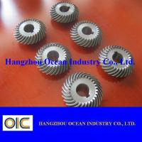 Wholesale M0.5 M1 M1.5 M2 M2.5 Alloy Steel Micro Spiral Bevel Pinion Gear from china suppliers