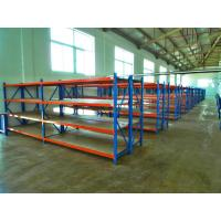 Powder Coating Medium Duty Industrial Storage Racks With Steel Sheet Panel