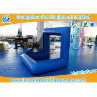 Wholesale Blue Factory Air Sealed Inflatable Football Polo Goal Sport Game Inflatable Soccer Goal Post from china suppliers