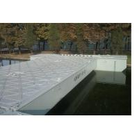 Wholesale Temporary Trestle Floating Pontoon Bridge With Anti-corrosion Coatings from china suppliers