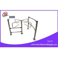 Wholesale Security Access Supermarket Turnstile Unbidirectional With Guardrail from china suppliers