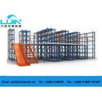 Wholesale Heavy Duty Rack Supported Mezzanine , Multi Level Cold Steel Pallet Racks from china suppliers