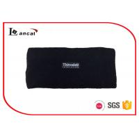 Wholesale Multi Layer Black Mens Knitted Snood Scarf With Customize Woven Label from china suppliers
