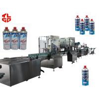 Wholesale Aerosol Can LPG Gas Filling Machine , Cartridge Butane Gas Filling Machine from china suppliers
