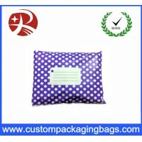 Wholesale Purple White Polka Dot Printed Post Plastic Mailing Bags Inflatable Packaging from china suppliers