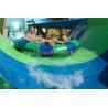 Buy cheap Fiberglass Rainbow Multi Water Slide Large Aqua Water World Customized Height from wholesalers