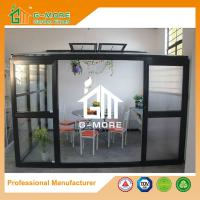 Wholesale 320 X 283 X 275CM Dark Grey Color 8mm Thick Polycarbonate Aluminum Greenhouse from china suppliers