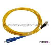 Wholesale SC To FC SM Simplex Fiber Optic Jumper Optical Patch Cord With FC Short Boot from china suppliers