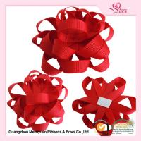 Wholesale Red Grosgrain Ribbon Flowers satin ribbon craft for Festival & Holiday from china suppliers