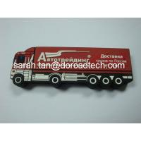 Wholesale Personalized Truck Shaped PVC USB Flash Drives, All Kinds of Shaped can be Customized from china suppliers