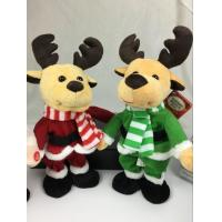 Wholesale Lovely Dancing and Singing Music Talking Plush Toys Electronic Christmas Plush Toy from china suppliers