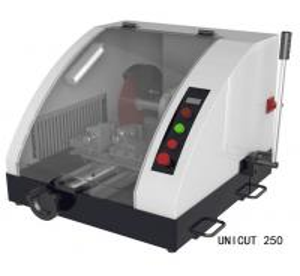 Wholesale FEMA Ductile Iron Casting Base  Manual Metallographic Cutting Machine  UniCut 250 from china suppliers