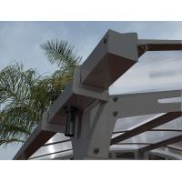Buy cheap DIY Polycarbonate Aluminum Patio Awnings / Carport / Gazebo With UV Resistant Panels from wholesalers