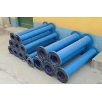 Wholesale Chemical and agrochemical glass lined reactor repair lined steel pipe from china suppliers