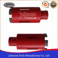 """Wholesale 45mm 1 3/4"""" Diamond Core Drill Bits For Sandstone / Limestone from china suppliers"""